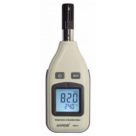 Medidor de Temperatura e Umidade - KR811