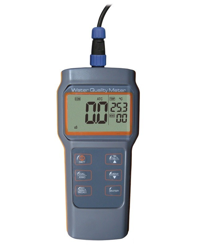 Medidor Multiparâmetro à Prova d'Água (pH/Cond/OD/Temp) - AK87 (instrumento sem sonda)