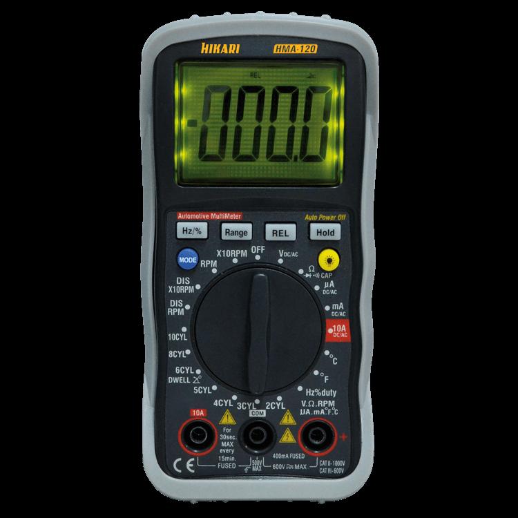 Multímetro Digital Automotivo - HMA-120