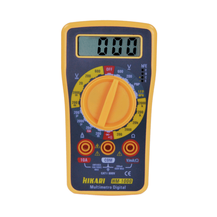 Multímetro Digital - HM-1000