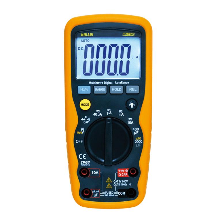 Multímetro Digital - HM-2200