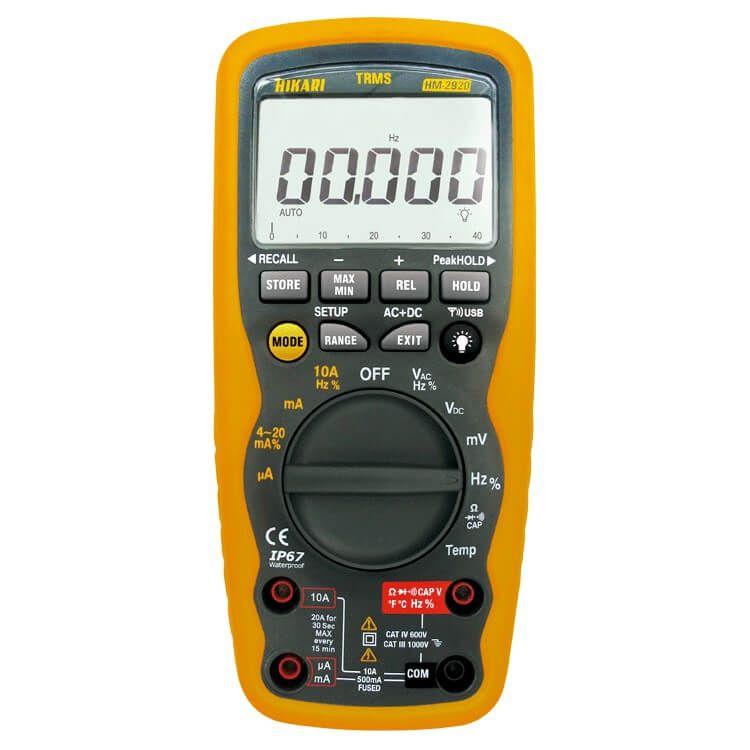 Multímetro Digital - HM-2920