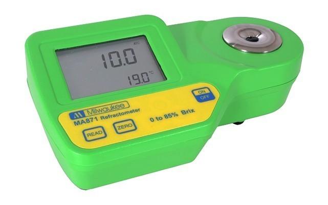 Refratômetro Digital (%Brix) - MA871