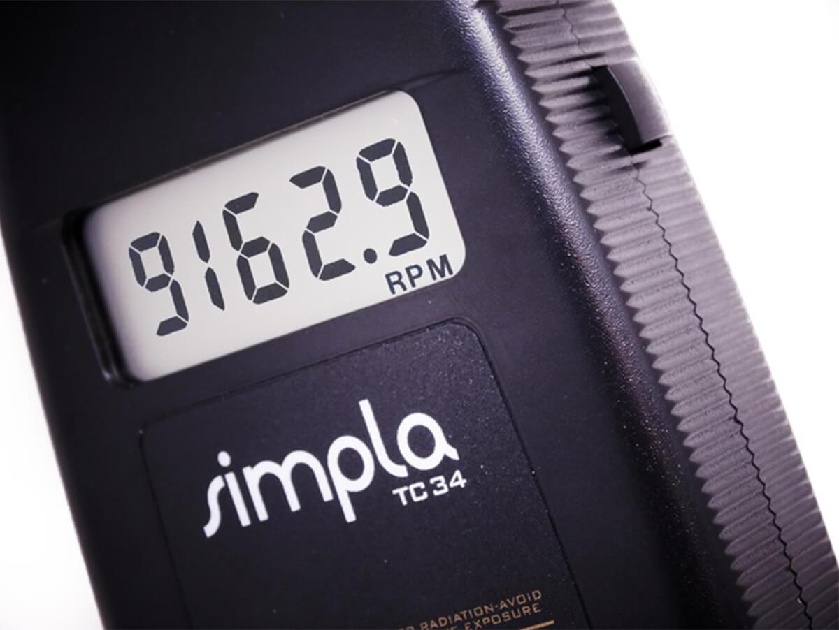 Tacômetro Digital sem Contato com Mira Laser - TC34