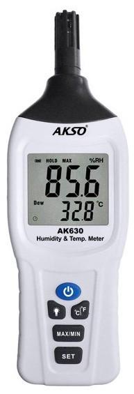 Termo-Higrômetro Portátil - AK630