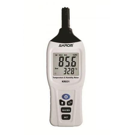 Termo-higrômetro Portátil - KR831