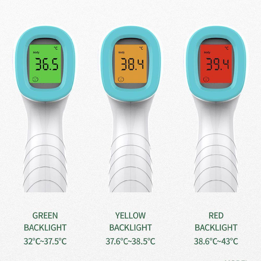 Termômetro Clínico Infravermelho para Corpo Humano sem Contato - DN-998 + Certificação Rastreavel ao INMETRO/RBC