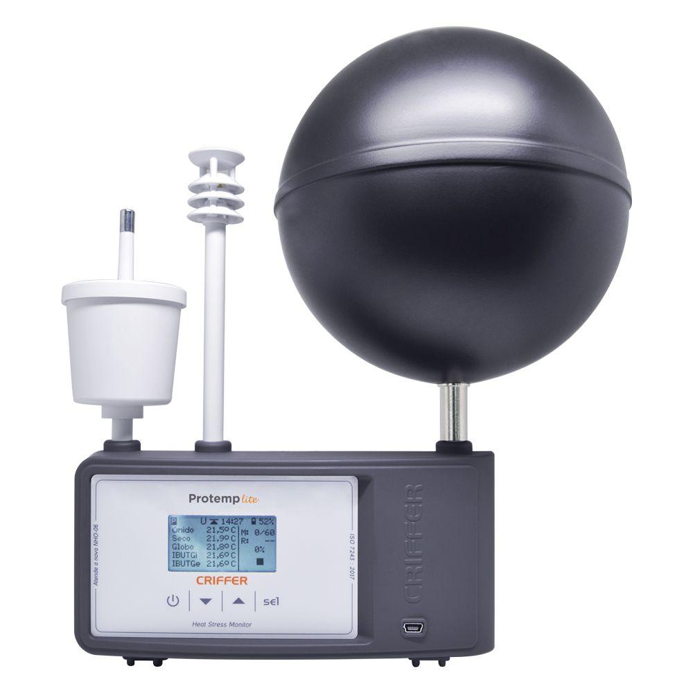 Termômetro de Globo Digital com datalogger (IBUTG) - Protemp-4