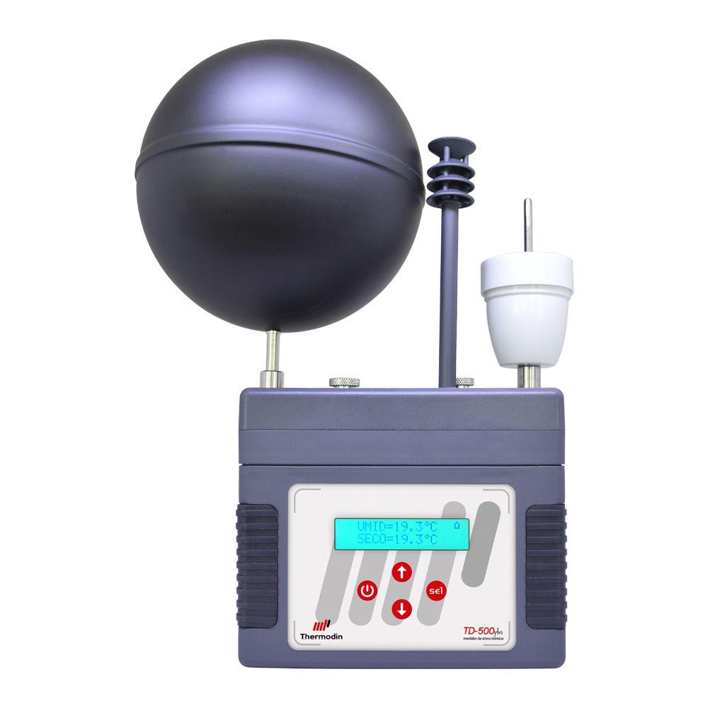Termômetro de Globo Digital com Datalogger (IBUTG) - TD-500 Plus