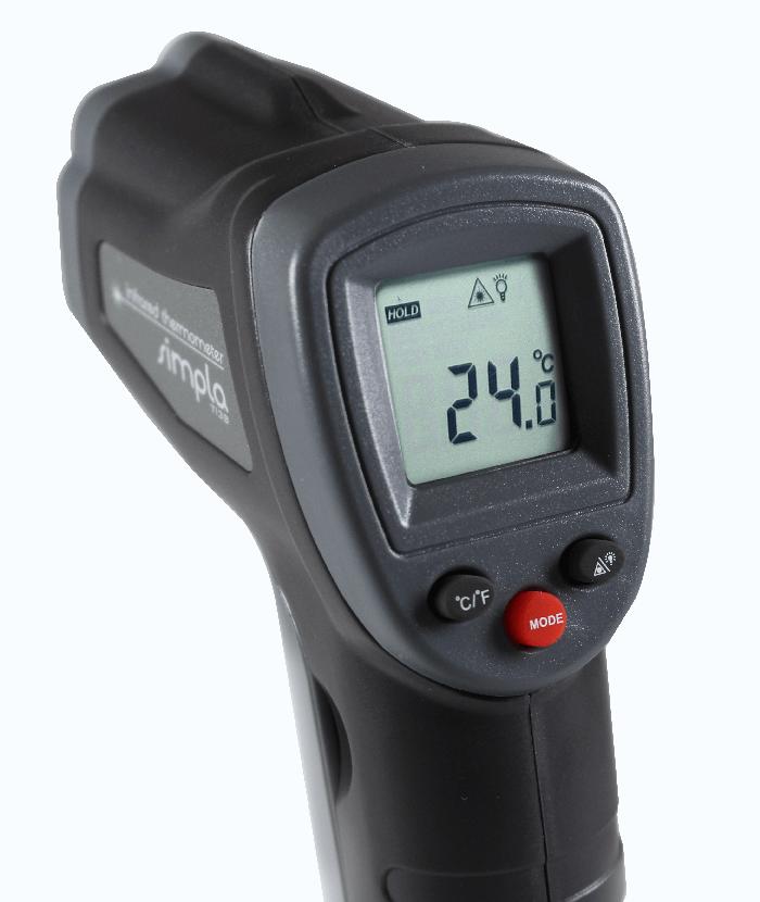 Termômetro Infravermelho (-50 a 380°C) - TI38