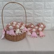 Lembrancinha De Maternidade Boneca Chaveiro Sortida 30 Peças