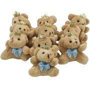30 Lembrancinhas de Maternidade - Urso Chaveiro Menino