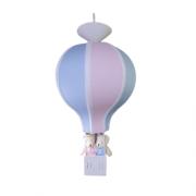 Luminária Balão de Teto  - Azul e Rosa Gêmeos