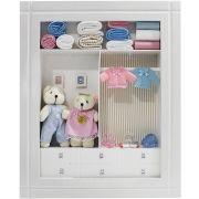Quadro Porta Maternidade Closet - Gêmeos