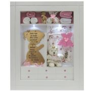 Quadro Porta Maternidade Closet Personalizado - Oração