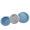 Azul com Branco Trio
