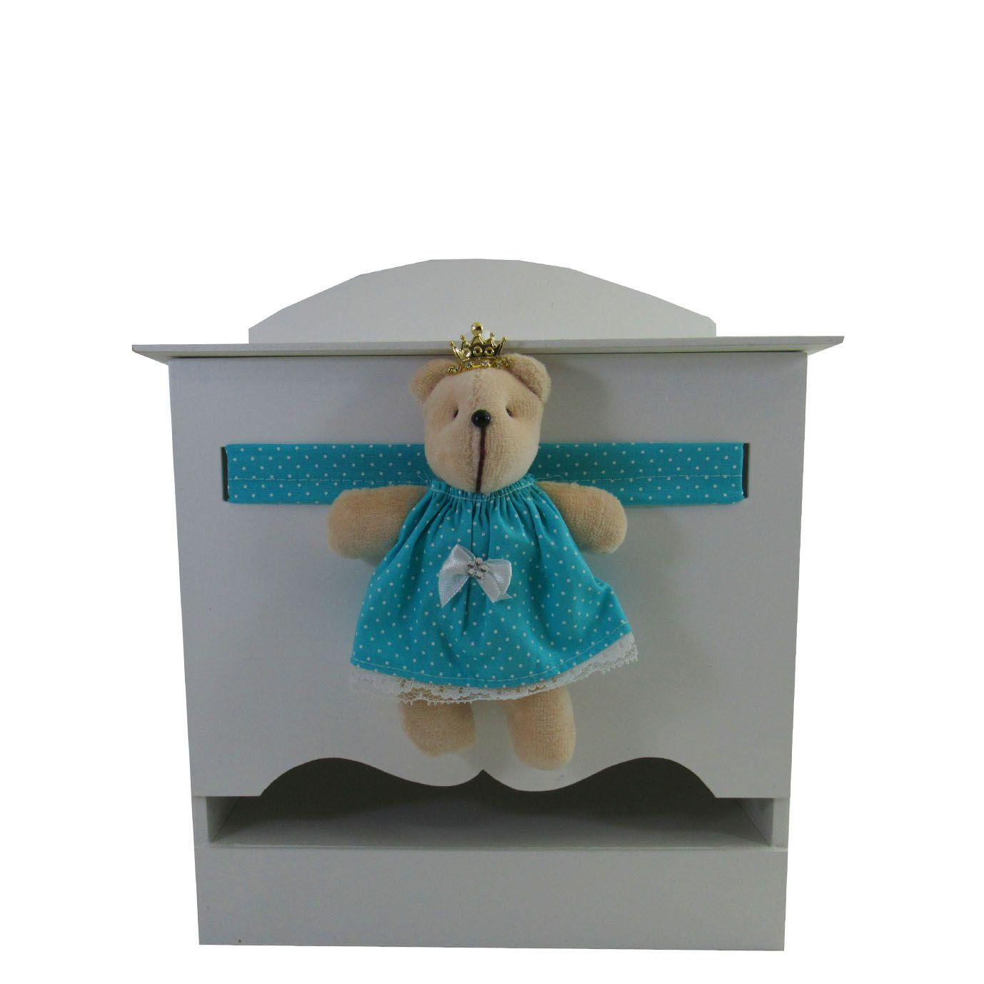 Decoração Completa Menina - Urso Verde Tifany