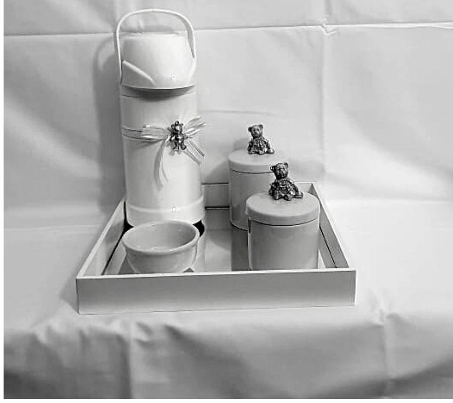 kit bebê porcelana  decoração quarto infantil