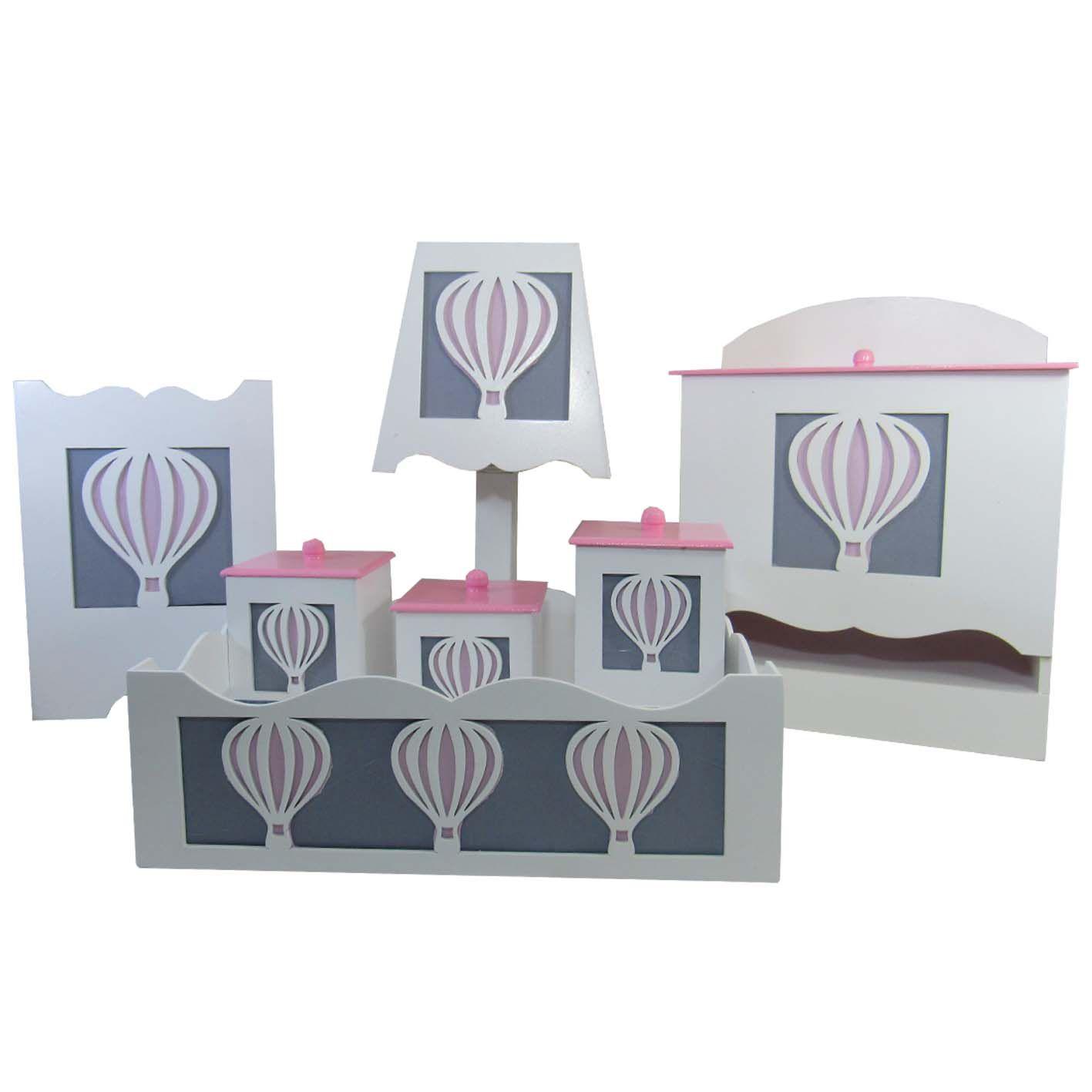 Kit Higiene do Bebê - Balão