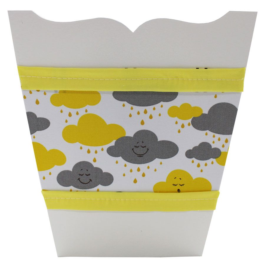 Kit Higiene do Bebê - Nuvem Amarela