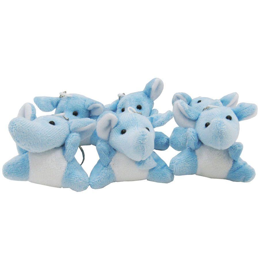 Lembrancinha Chaveiro - Elefante Azul
