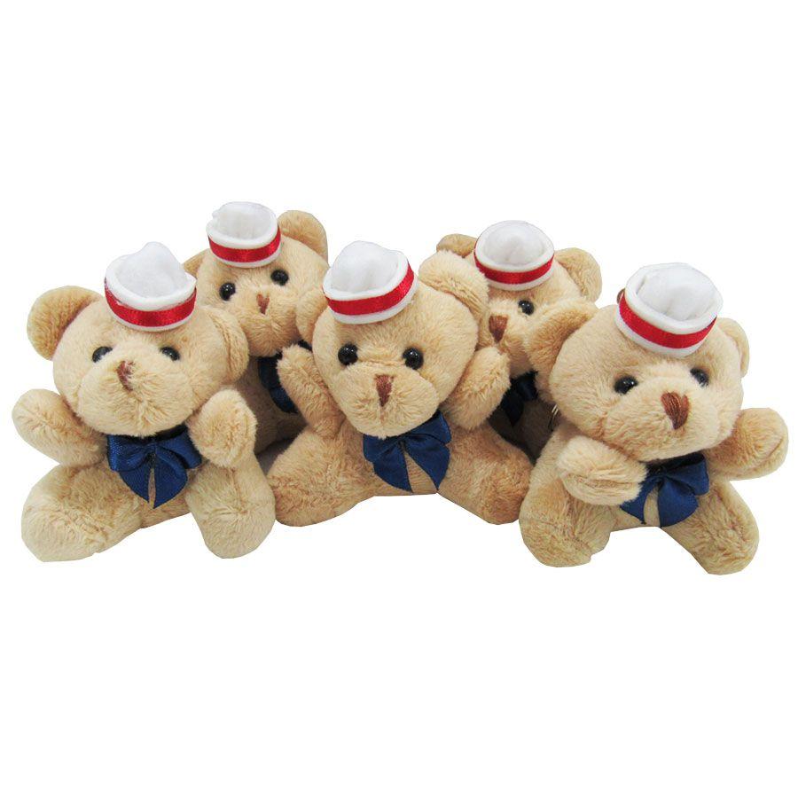 Lembrancinha Urso Chaveiro - Marinheiro