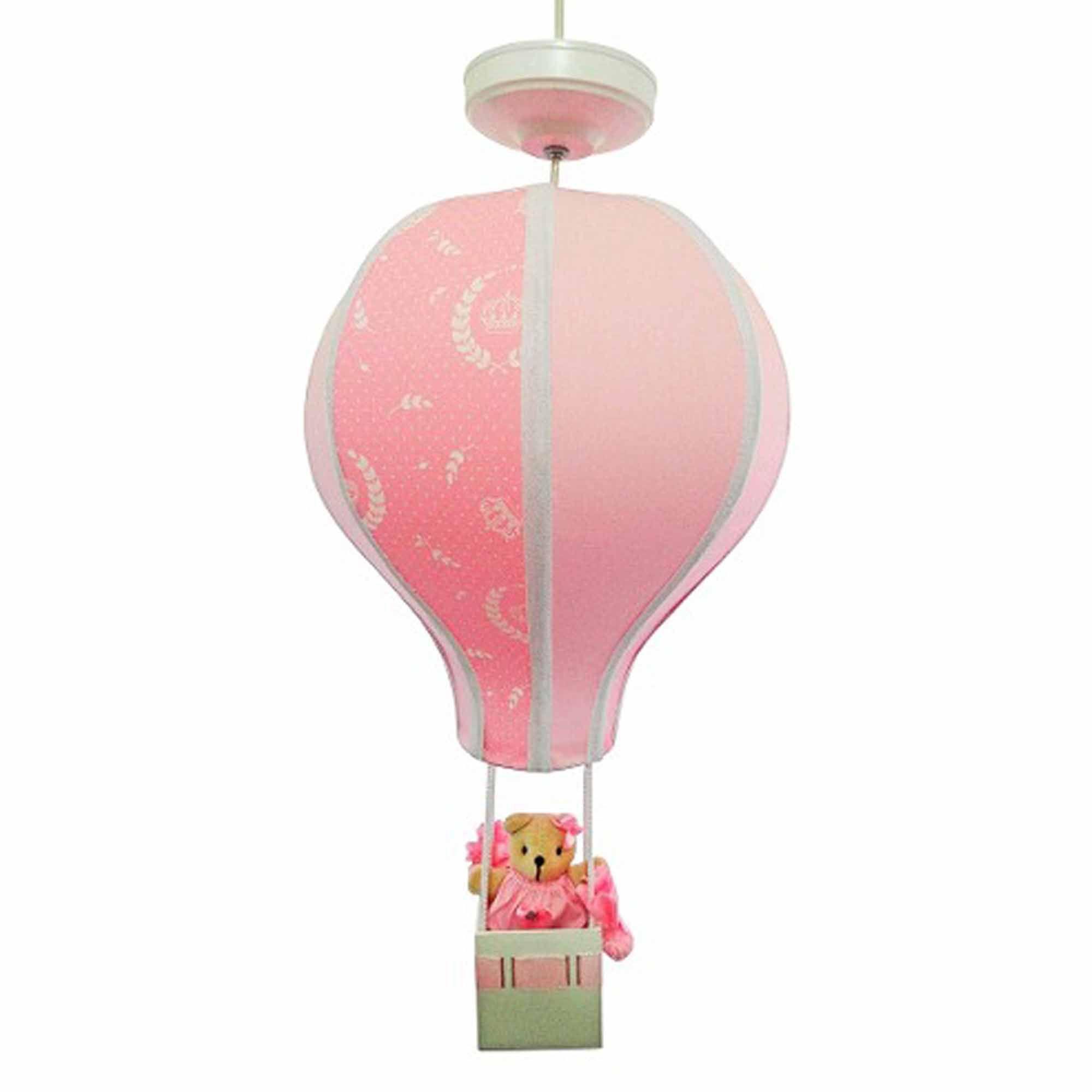 Luminária Lustre Balão - Decoração Princesa