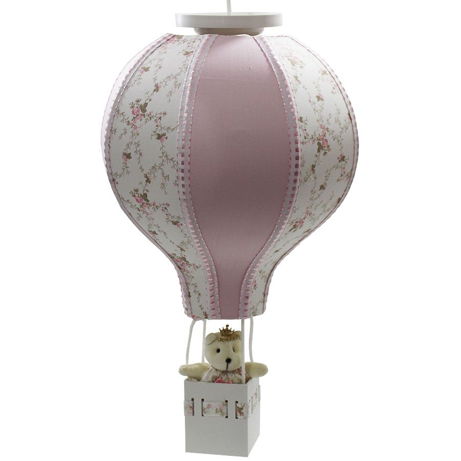 Luminária Lustre Balão Feminino - Provençal