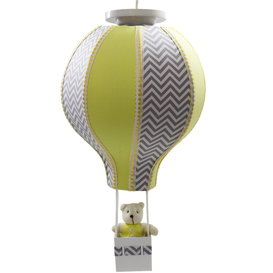 Luminária Lustre Balão Menino - Chevron