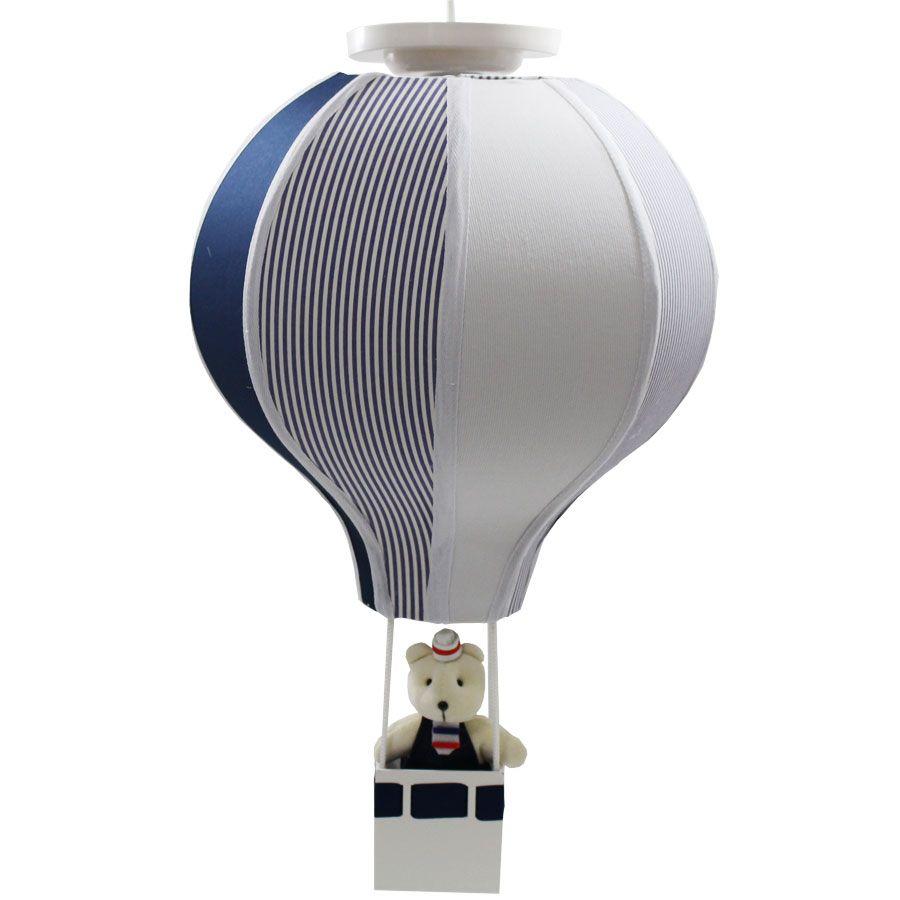 Luminária Lustre Balão Menino - Marinheiro