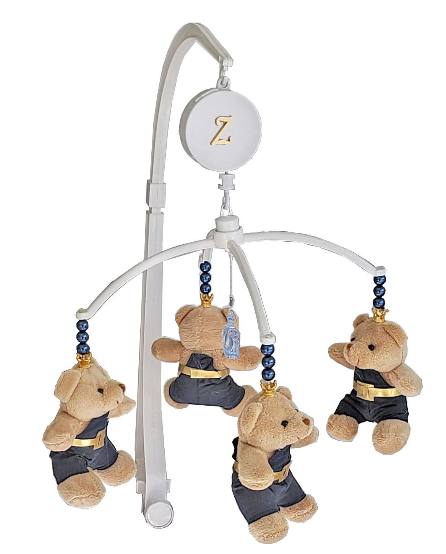 Mobile Musical Giratório de Berço - Urso