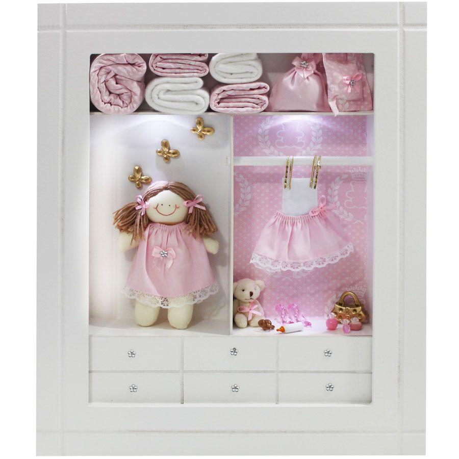 Quadro Porta Maternidade Closet - Sortido
