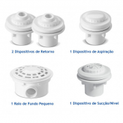 Kit de Dispositivos para Piscina Nautilus
