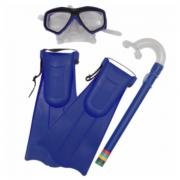 Mascara De Mergulho - Bel Fix Kit Snorkel Com Mascara E Nadadeiras