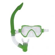 Mascara De Mergulho - Starflex Conjunto Snorkel Infantil Verde