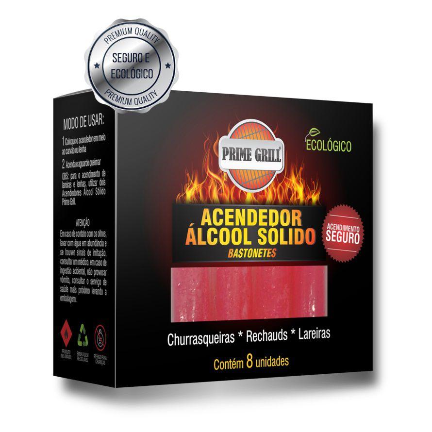 Acendedor de Churrasqueira Álcool Sólido - Prime Grill