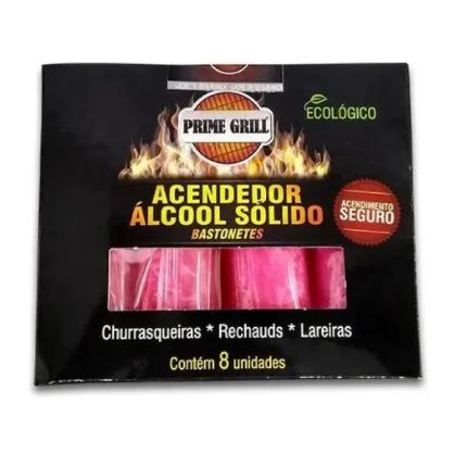 Acendedor De Churrasqueira - Prime Grill 8 Unidades