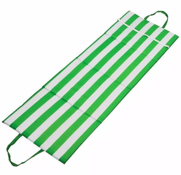 Almofada para Espreguiçadeira e Cadeira Verde e Branco - Mor