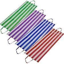 Almofada para Espreguiçadeira e Cadeira Vermelho e Branco - Mor