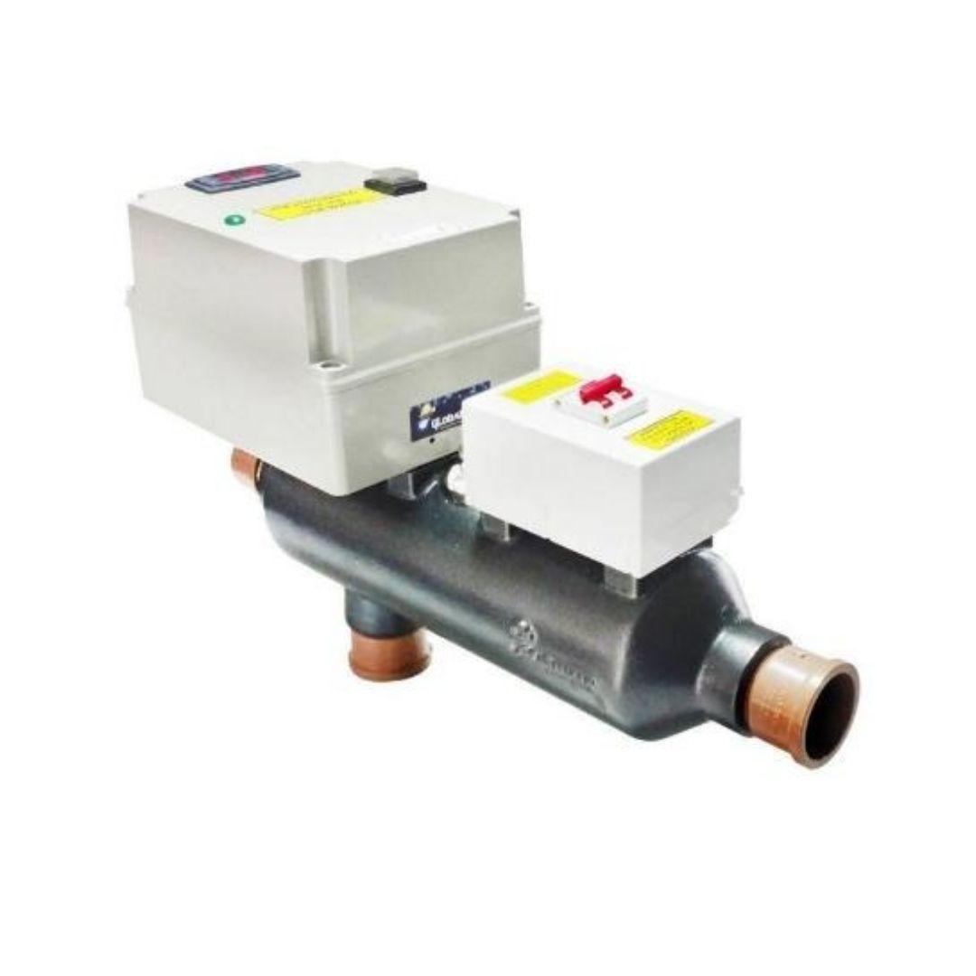 Aquecedor Eletrico Para Piscina - Industek Ate 40 Mil Litros Potencia 10 Kw A 40 Automatic