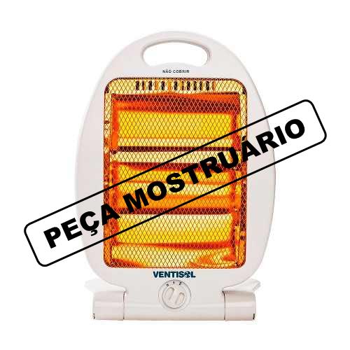 Aquecedor Elétrico Quartzo Ventisol, 800 Watts, Aq-02 127v - PM