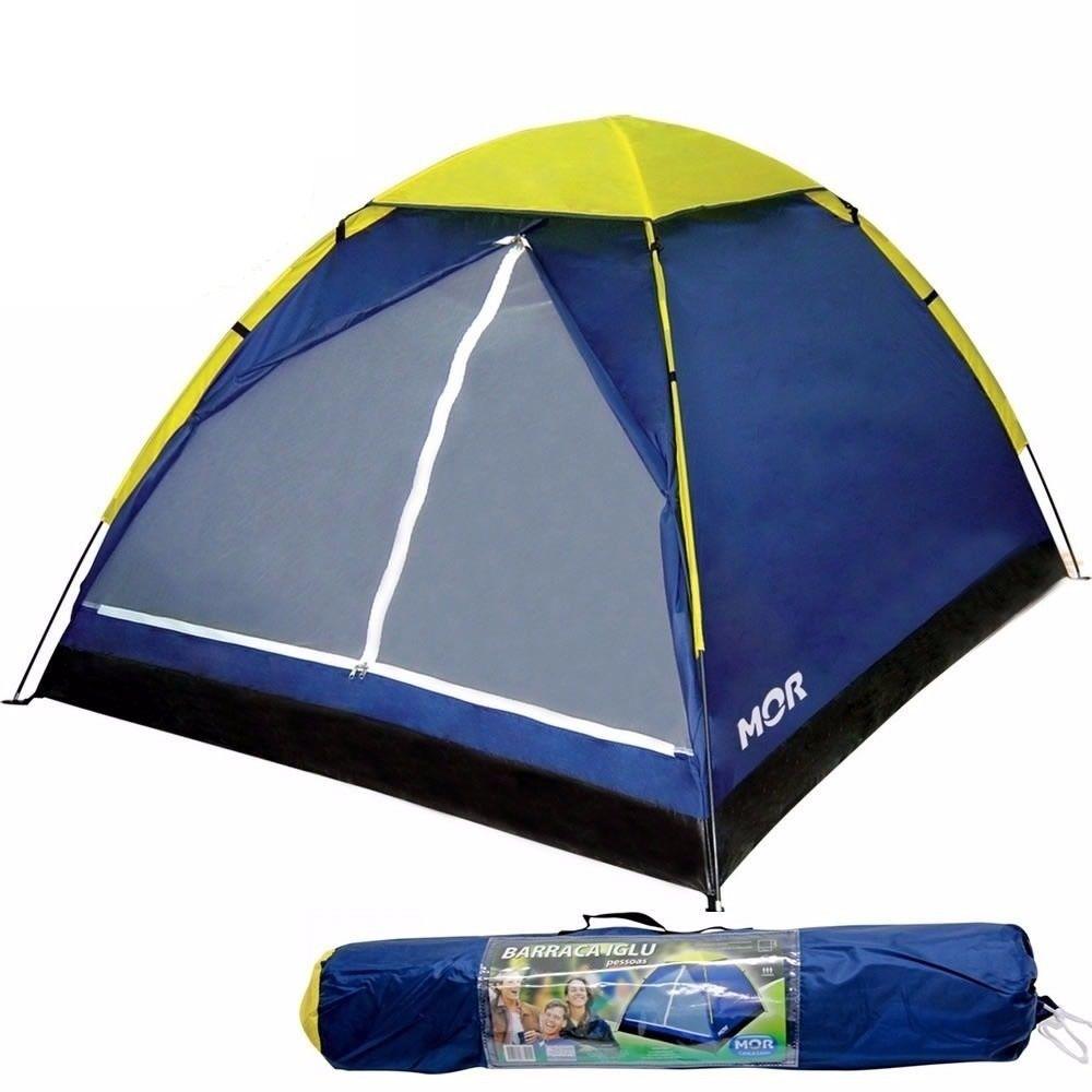 Barraca Iglu Para Camping 2 Pessoas Com Bolsa - Mor