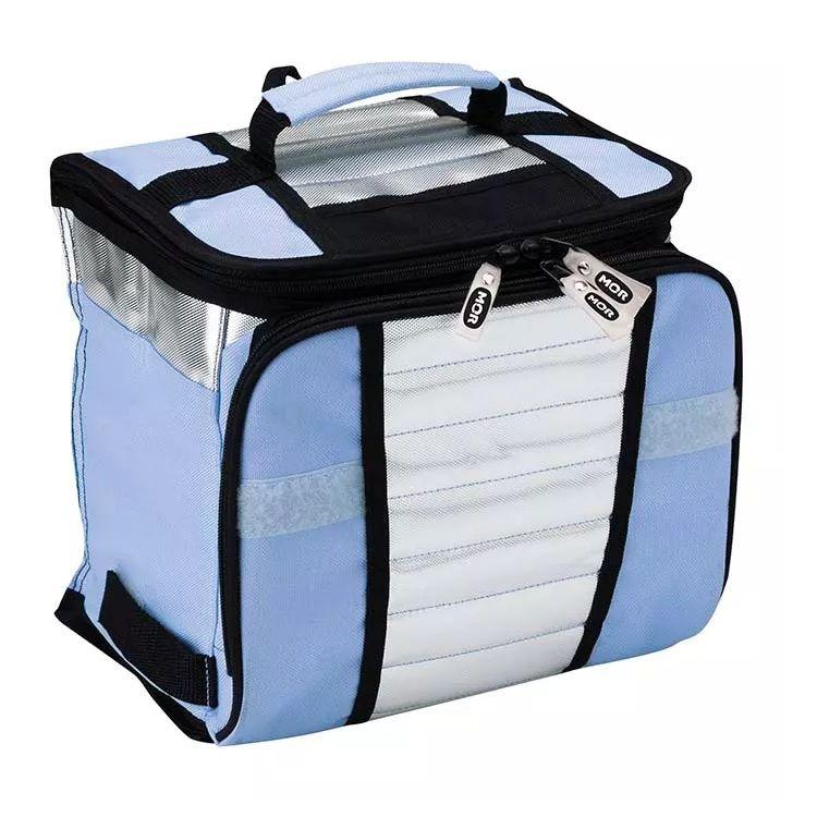 Bolsa Térmica Ice Cooler 7,5 Litros Azul Mor