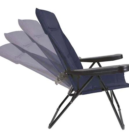 Cadeira Alfa 4 Posições Azul - Mor