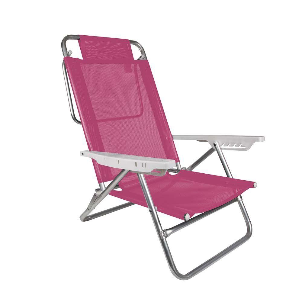 Cadeira de Praia Sol de Verão Summer Pink - Mor