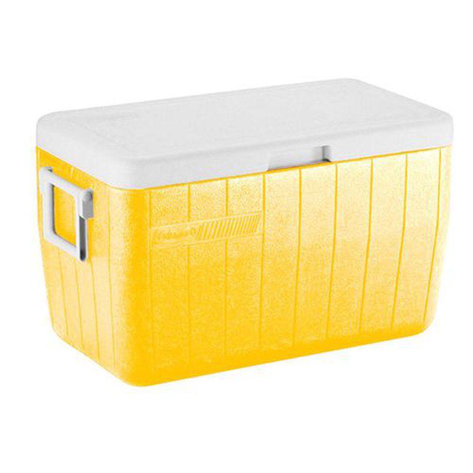 Caixa Térmica 48QT Amarela - Coleman