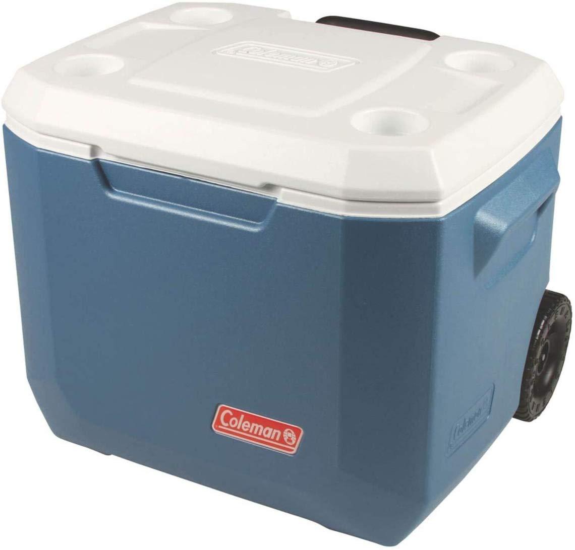 Caixa Térmica 50QT Xtreme Azul com Rodas - Coleman