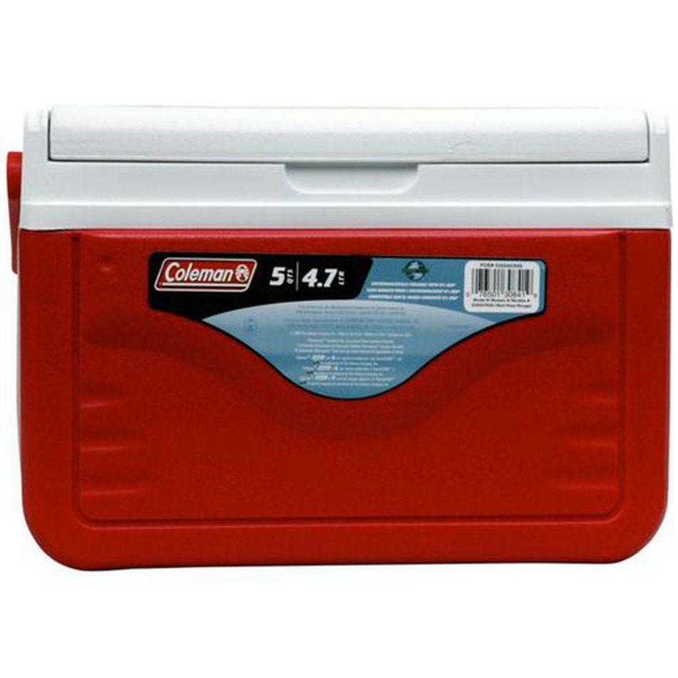 Caixa Térmica 5QT Vermelha - Coleman