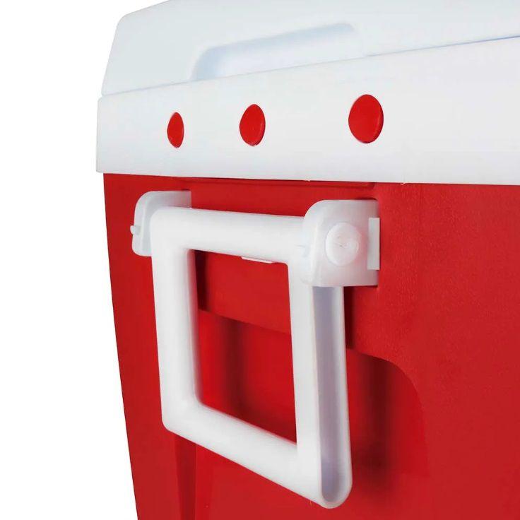 Caixa Térmica 75 Litros Vermelha - Mor