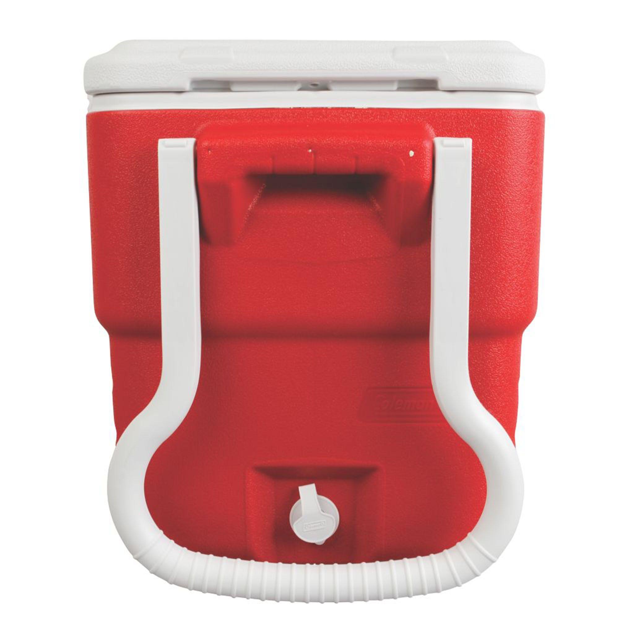Caixa Térmica 40QT com Rodas Vermelha - Coleman